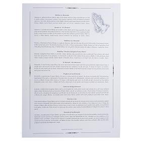 Impressão Medjugorje Rainha da Paz 34x24 cm s2