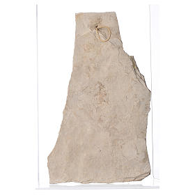 Quadro pietra Madonna di Medjugorje 40X23 s2
