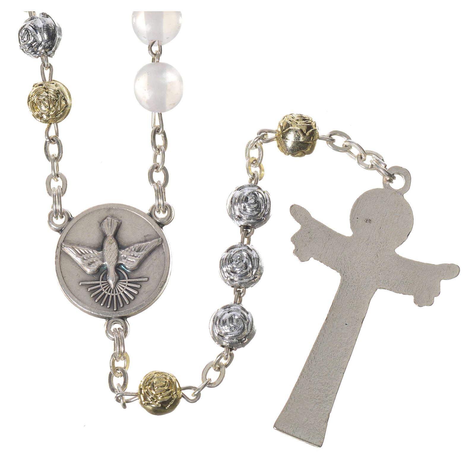 Chapelet Medjugorje imitation perles Saint Esprit 4