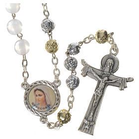 Chapelets et boîte chapelets: Chapelet Medjugorje imitation perles Saint Esprit