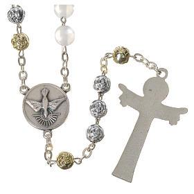 Chapelet Medjugorje imitation perles Saint Esprit s2