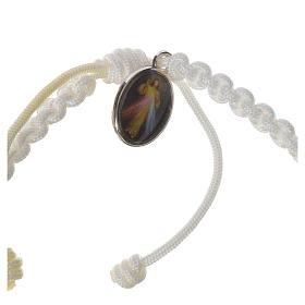Pulsera cuerda Medjugorje Cruz olivo varios colores s4