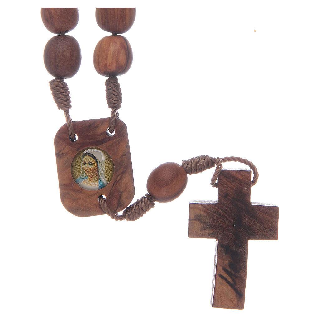 Coroncina di Medjugorje in olivo 4