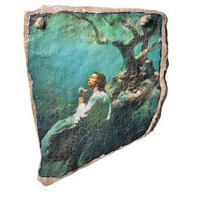 Cuadro oración en  Piedra de Medjugorje s1