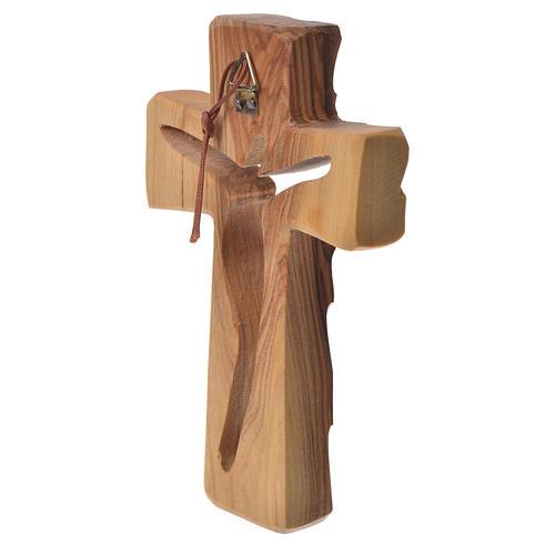 Croce Ulivo Medjugorje 13x8 cm 2