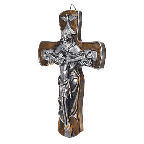Croce in resina Medjugorje finitura oro s2