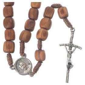 Chapelets et boîte chapelets: Chapelet olivier Medjugorje Pape François