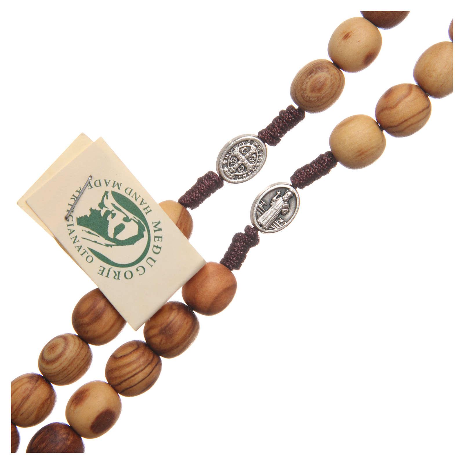 Rosario Medjugorje legno ulivo 4