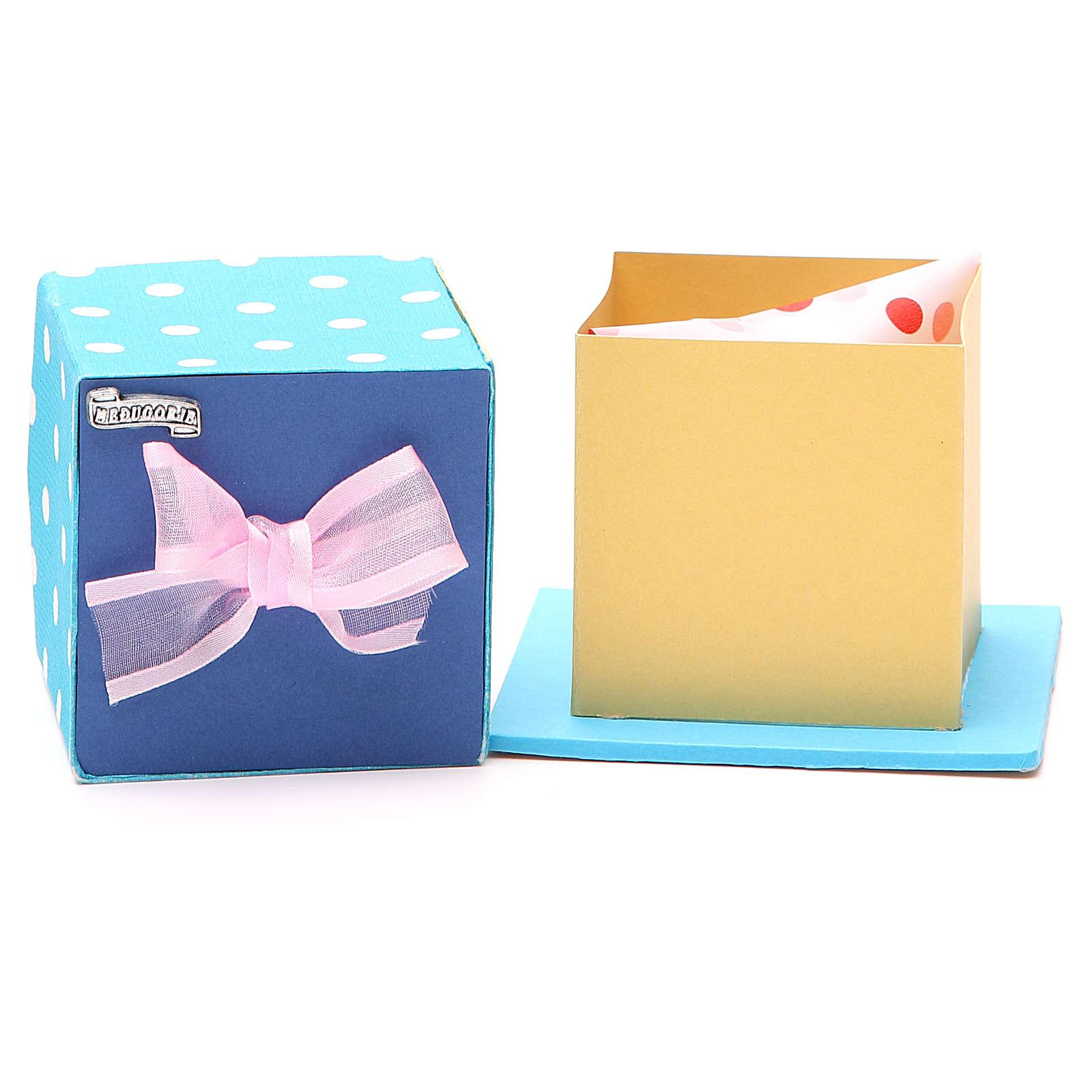 God's caresses box with pink ribbon, Medjugorje 4