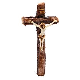 Crucifix bois de Medjugorje à suspendre s1