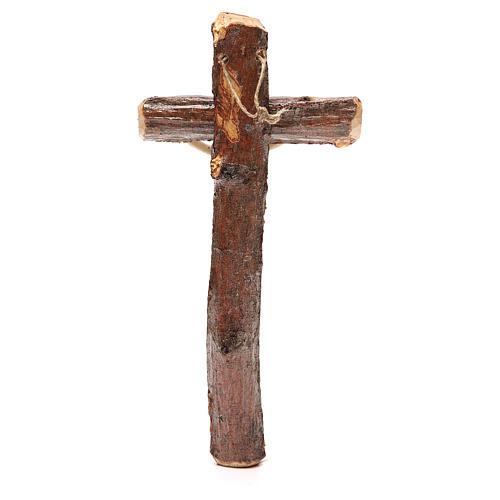 Crucifix bois de Medjugorje à suspendre 2