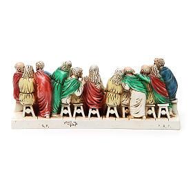 Imagen Ultima Cena piedra Medjugorje 24 x 9,5 cm s2