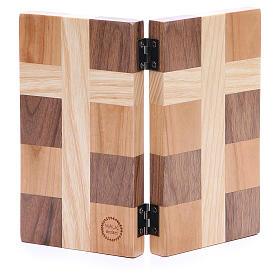 Bassorilievo Ave Maria tre tipi di legno s2