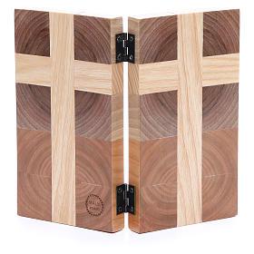 Bassorilievo Padre nostro tre tipi di legno s2