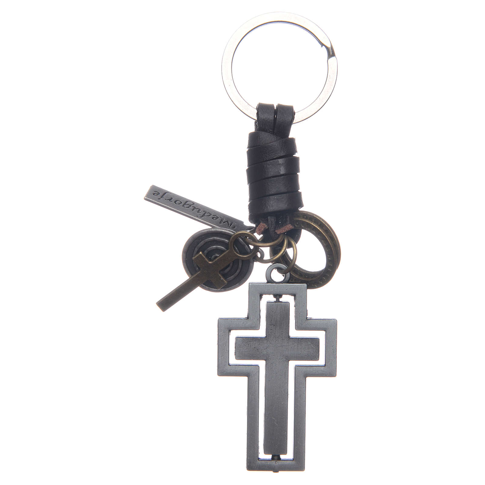 Medjugorje metal key ring 4