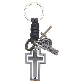 Medjugorje metal key ring s1