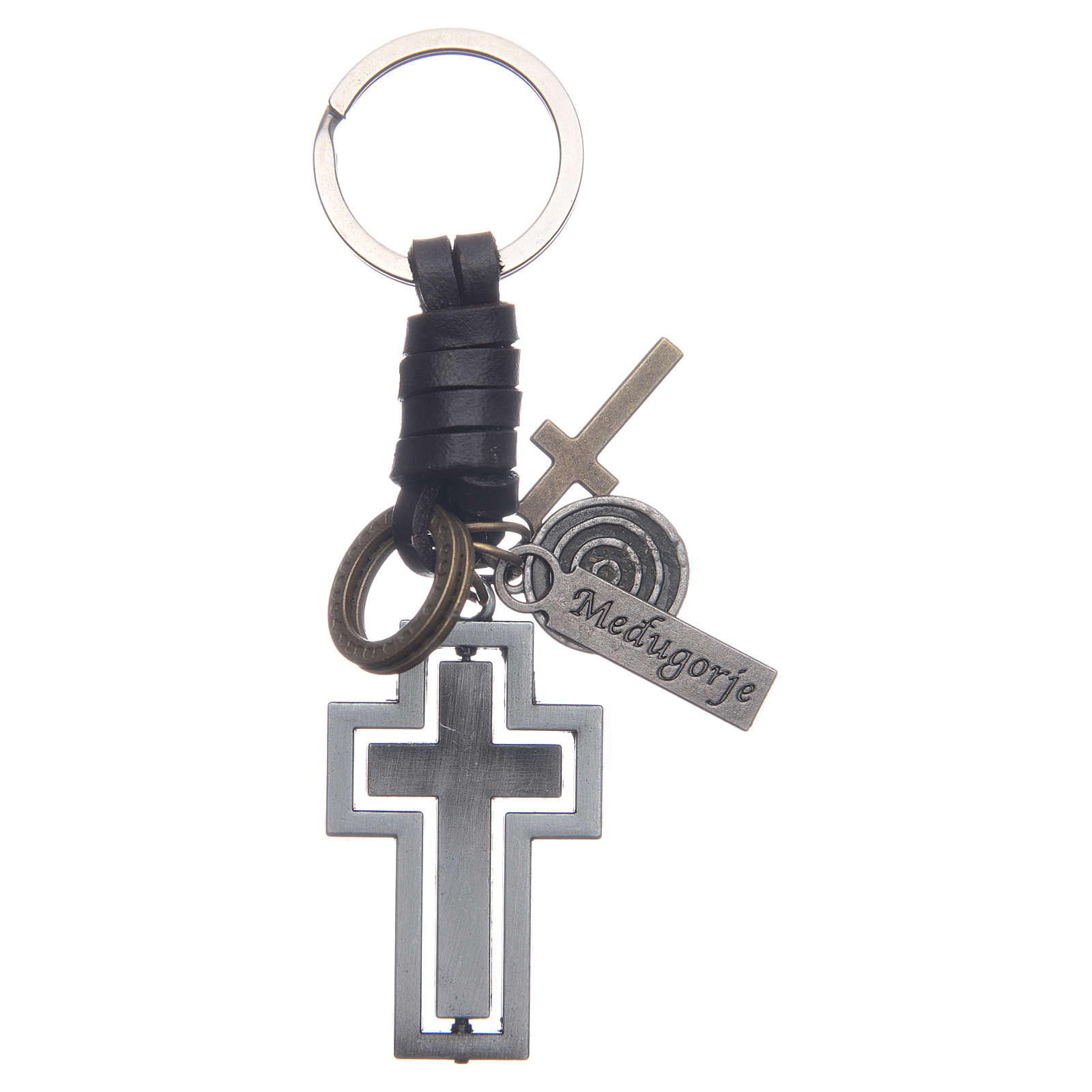 Medjugorje metal key ring 4