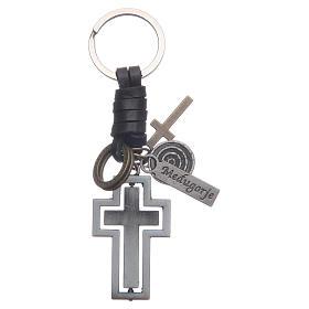 Medjugorje metal key ring s1