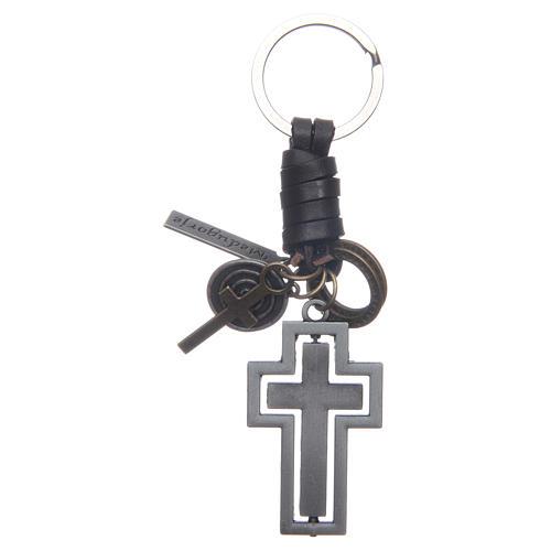 Medjugorje metal key ring 2