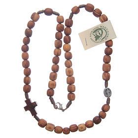 Rosenkranzkette aus Medjugorje, Perlen aus Olivenholz s3