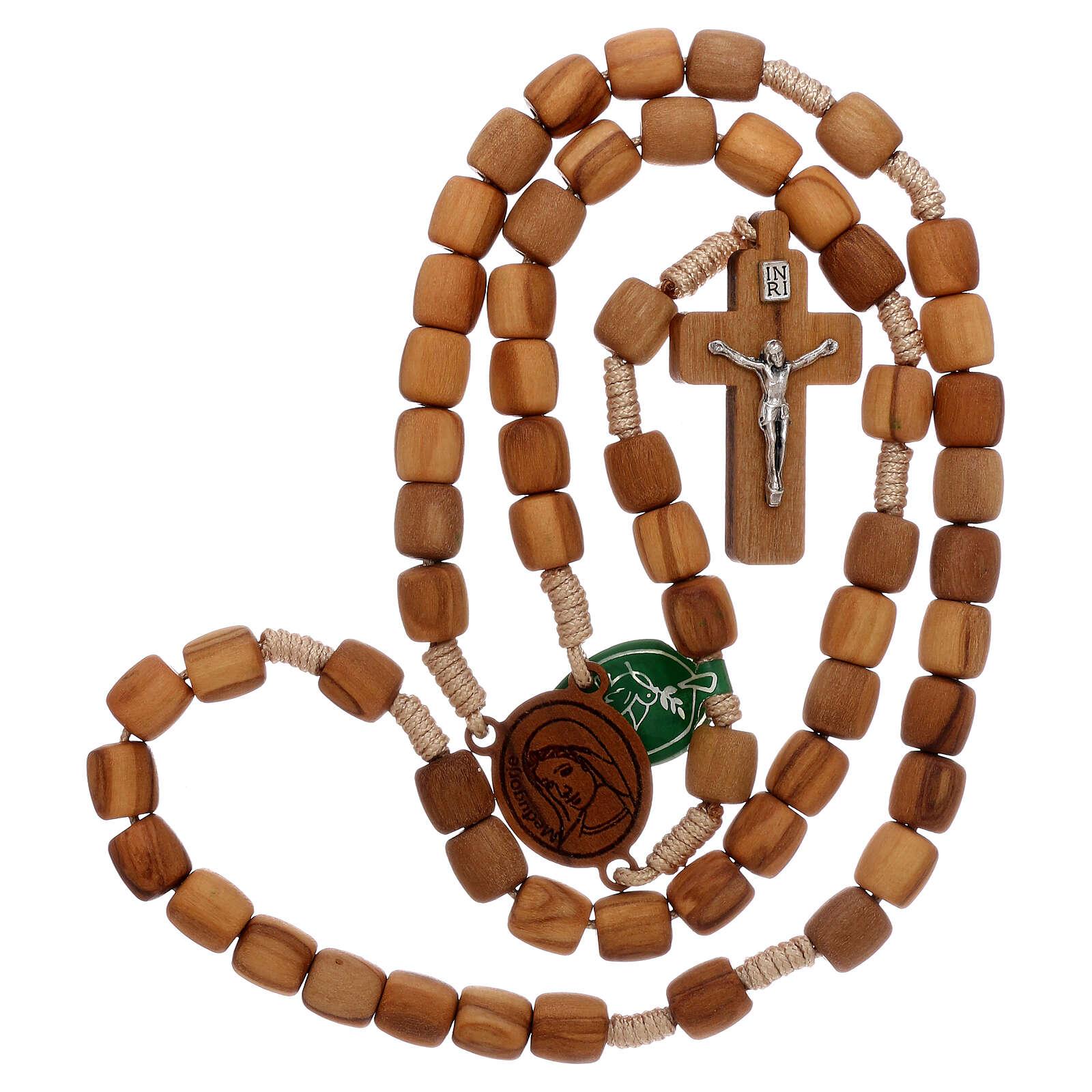 Chapelet olivier Medjugorje 8 mm 4