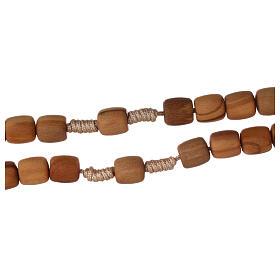 Medjugorje rosary in olive wood 8 mm s3