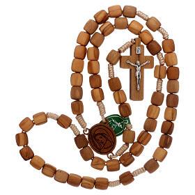 Medjugorje rosary in olive wood 8 mm s4