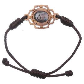 Bracelet Medjugorje corde image Gospa s1