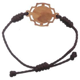 Bracelet Medjugorje corde image Gospa s2