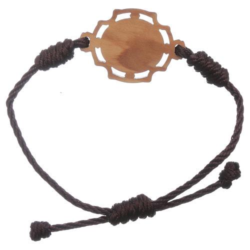 Bracelet Medjugorje corde image Gospa 2