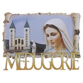 Croix et aimants: Aimant Notre-Dame de Medjugorje