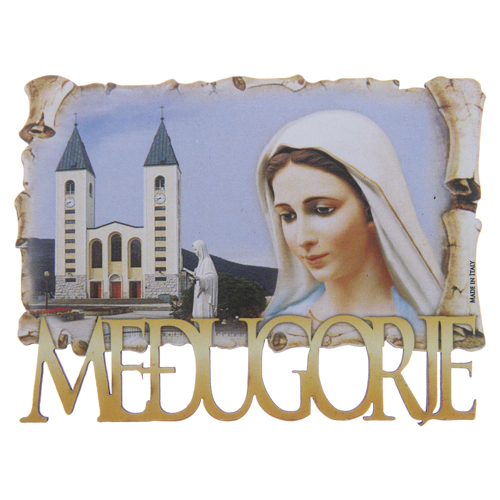 Our Lady of Medjugorje magnet 4