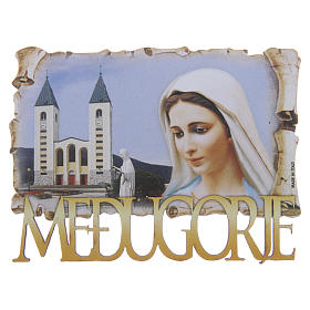 Crosses and magnets: Our Lady of Medjugorje magnet