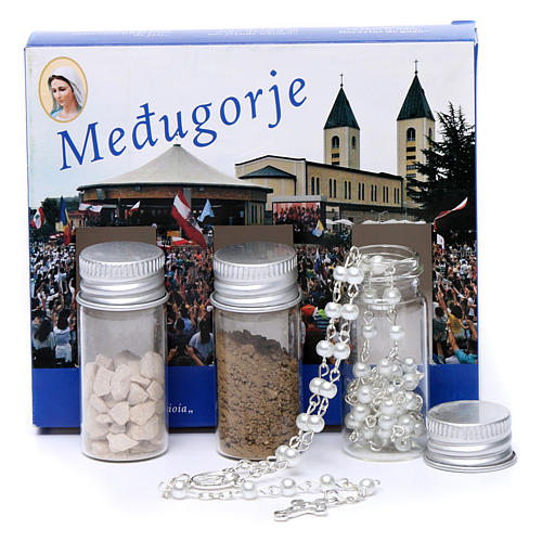 Medjugorje kit earth stones and rosary Medjugorje 1