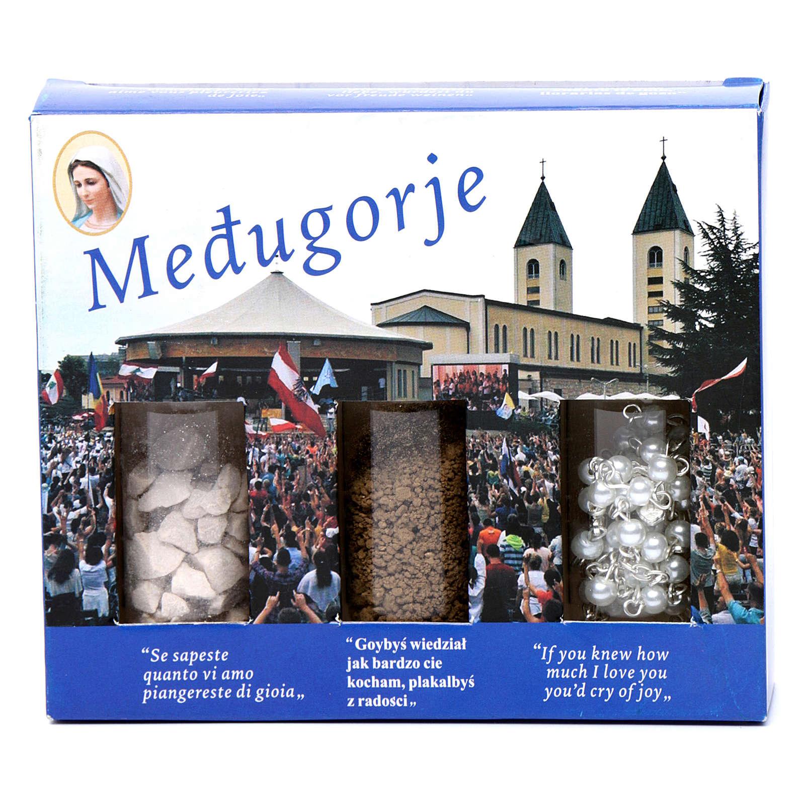 Kit terra sassi e rosario Medjugorje 4