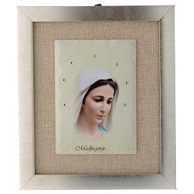 Quadro Madonna di Medjugorje avorio s1