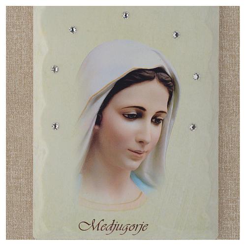 Our Lady of Medjugorje framed print 2