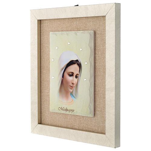 Our Lady of Medjugorje framed print 3