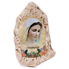 Imagen Virgen Medjugorje de yeso s1