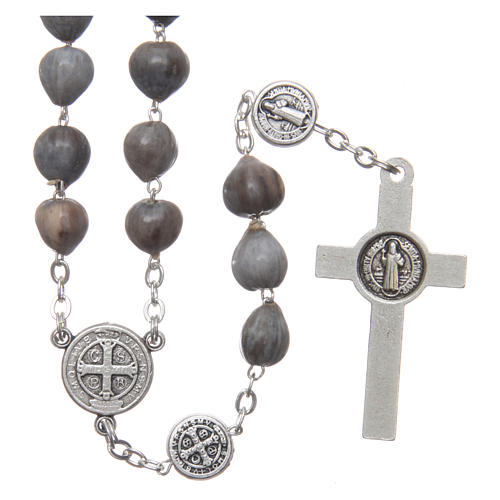 Medjugorje rosary tears of Job with chain 2