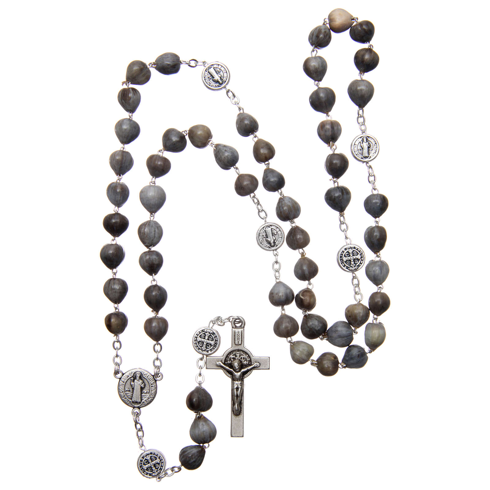 Medjugorje rosary tears of Job with chain 4