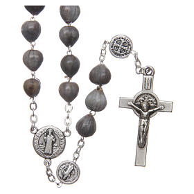 Medjugorje rosary tears of Job with chain s1