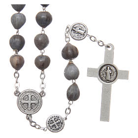 Medjugorje rosary tears of Job with chain s2