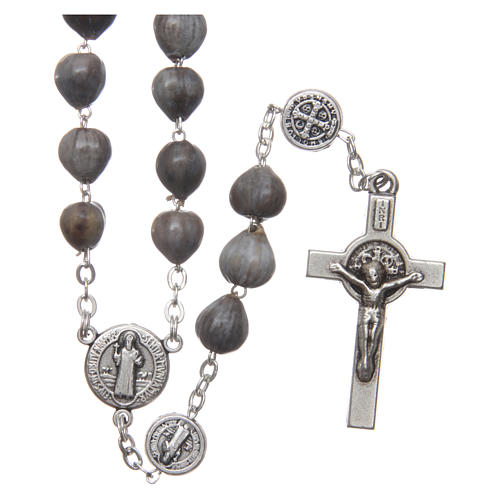 Medjugorje rosary tears of Job with chain 1