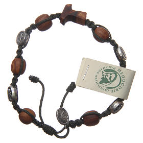 Bracelets, dizainiers: Bracelet Medjugorje olivier corde vert foncé Medjugorje Jésus