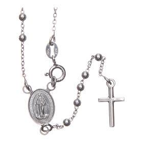 Rosario Madonna di Medjugorje argento 925 s1