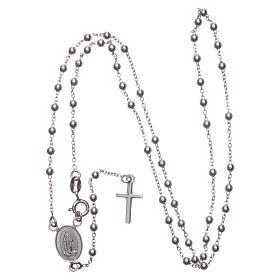 Rosario Madonna di Medjugorje argento 925 s3