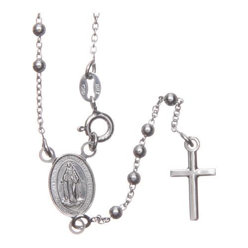 Rosario Madonna di Medjugorje argento 925 1