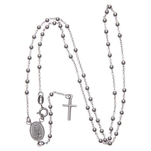Rosario Madonna di Medjugorje argento 925 3