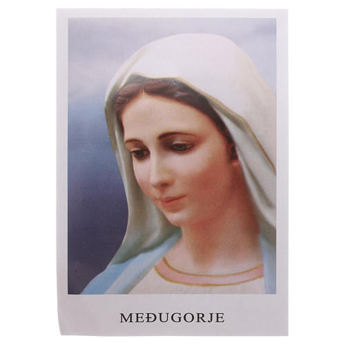 Medjugorje rosary with magnets and stones 3